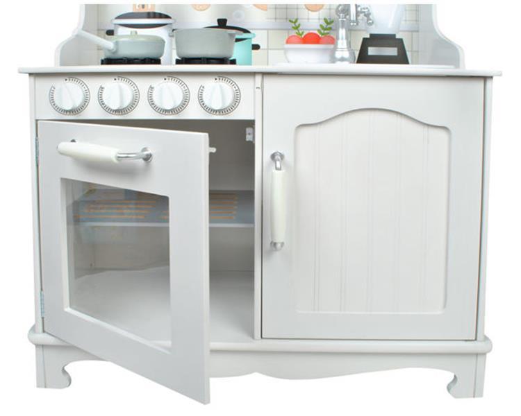 Kuchnia Drewniana Mega Kuchenka Dla Dzieci Garnki