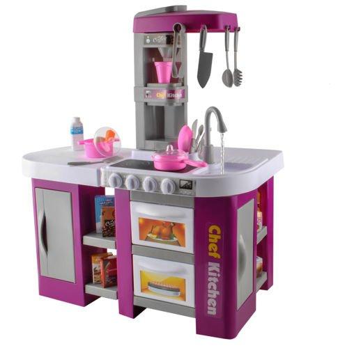 Kuchnia Zabawkowa Dla Dzieci Prawdziwy Kran Dzwieki Sklep