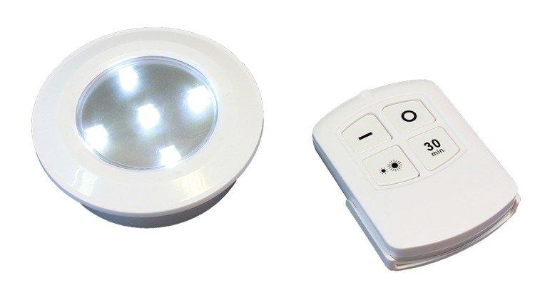 Lampka Lampki Oświetlenie 5 Led 6szt Na Baterie Pilot