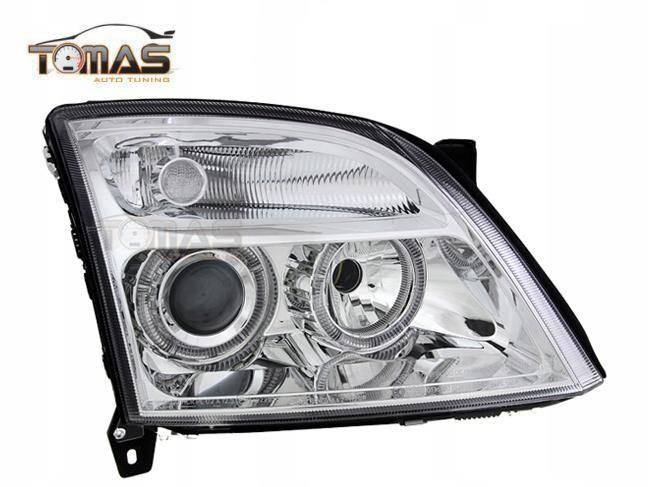 Lampy Przednie Reflektory Opel Vectra C Ringi
