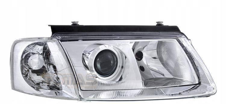 Lampy Przednie Reflektory Vw Passat B5 3b Chrom